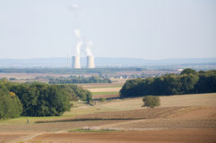 Nuclear Power Plant in Germany Stock Image