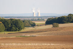 Nuclear Power Plant in Germany Stock Images