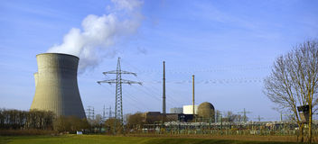 Nuclear Power Plant of Gundremmingen, Germany Royalty Free Stock Images