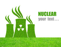 Nuclear power plant icon Stock Photo