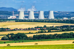 Nuclear power plant. In Jaslovske Bohunice, Slovakia, Europe Stock Photo