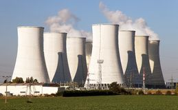 Nuclear power plant Jaslovske Bohunice - Slovakia Stock Photography
