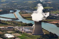 Nuclear Power Plant Leibstadt royalty free stock images