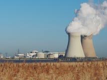 Nuclear power plant. Stock Photos