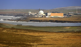 Nuclear Power Plant - Scotland. Doonray Nuclear Power Station on the North coast of Scotland in the United Kingdom Royalty Free Stock Image