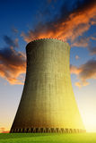 Nuclear power plant Stock Image