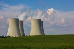 Nuclear power plant Temelin. Czech Republic stock image