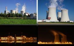 Nuclear power plant Temelin, Czech Republic Stock Photography