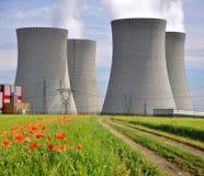 Nuclear power plant Temelin Stock Photos