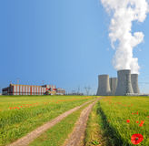 Nuclear power plant Temelin Stock Image