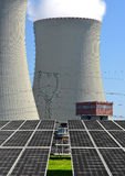 Nuclear power plant Temelin Royalty Free Stock Image