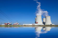 Nuclear power plant Temelin in Czech Republic Europe Stock Image