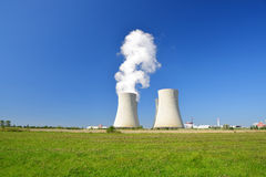 Nuclear power plant Temelin Stock Image