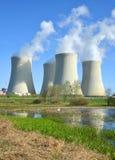 Nuclear power plant Temelin Stock Photography