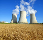 Nuclear power plant Temelin Royalty Free Stock Photos