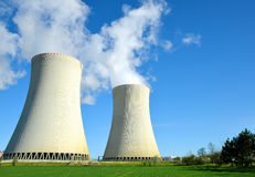 Nuclear power plant Temelin Royalty Free Stock Photo