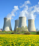 Nuclear power plant Temelin Royalty Free Stock Photography