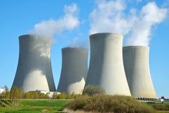 Nuclear power plant Temelin Royalty Free Stock Photos