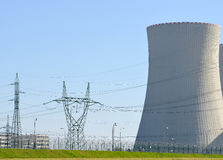 Nuclear power plant Temelin Royalty Free Stock Images