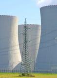 Nuclear power plant Temelin Royalty Free Stock Photo