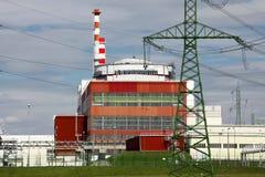Nuclear power plant Temelin in Czech Republic Europe Stock Photos