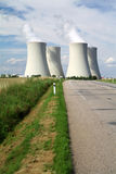 Nuclear power plant Temelin in Czech Republic Europe Royalty Free Stock Images