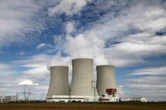 Nuclear power plant Temelin in Czech Republic Europe Stock Image