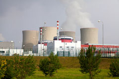 Nuclear power plant Temelin in Czech Republic Europe Royalty Free Stock Image