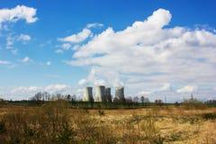 Nuclear power plant Temelin, Czech Republic. Nuclear power plant Temelin, South Bohemian region. Czech Republic royalty free stock images