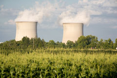 Nuclear power plants Stock Image