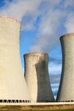 Nuclear power station Royalty Free Stock Image
