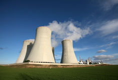 Nuclear power station Royalty Free Stock Photo