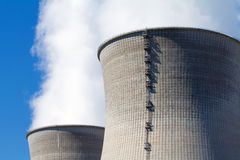 Nuclear power station Stock Image