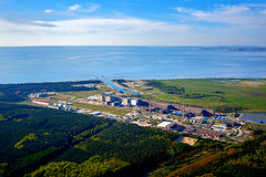 nuclear power station baltic sea Royalty Free Stock Image