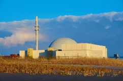 Nuclear power station. Brokdorf Stock Image