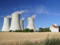 Nuclear power station Dukovany Royalty Free Stock Image