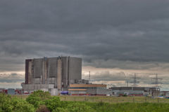 Nuclear Power Station Stock Photography