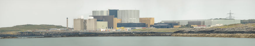 Nuclear Power Station Panorama Stock Photos