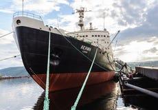 Nuclear-powered icebreaker Stock Photos