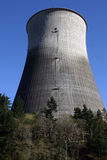 Nuclear Reactor. Cooling tower at Trojan Nuclear Power plant in Oregon Royalty Free Stock Image