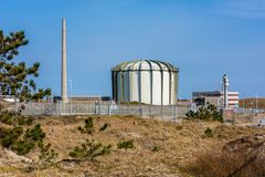 Nuclear Reactor in Petten Netherlands. Nuclear Reactor at the Energy Research Centre of the Netherlands ECN in Petten, Netherlands. Apart from its function as a Royalty Free Stock Images