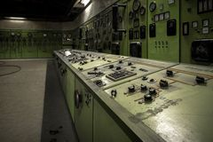 Nuclear reactor in a science institute Royalty Free Stock Photography