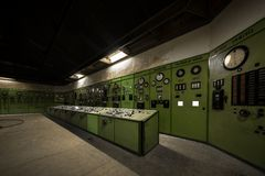 Nuclear reactor in a science institute Stock Images