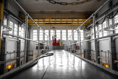 Nuclear reactor in a science institute Stock Photos