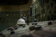 Nuclear reactor in a science institute Stock Image