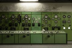 Nuclear reactor in a science institute Royalty Free Stock Image