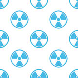 Nuclear seamless pattern Stock Photography
