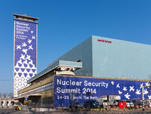 NSS - Nuclear Security Summit 2014 Stock Photo