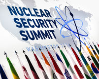 Nuclear Security Summit in Washington, 2016 Royalty Free Stock Photo