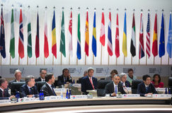 Nuclear Security Summit in Washington, 2016 Royalty Free Stock Photos